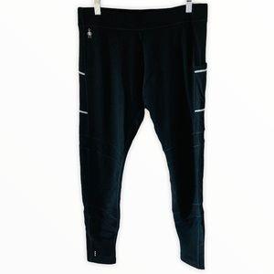 Smartwool Large Black Running Pants Leggings